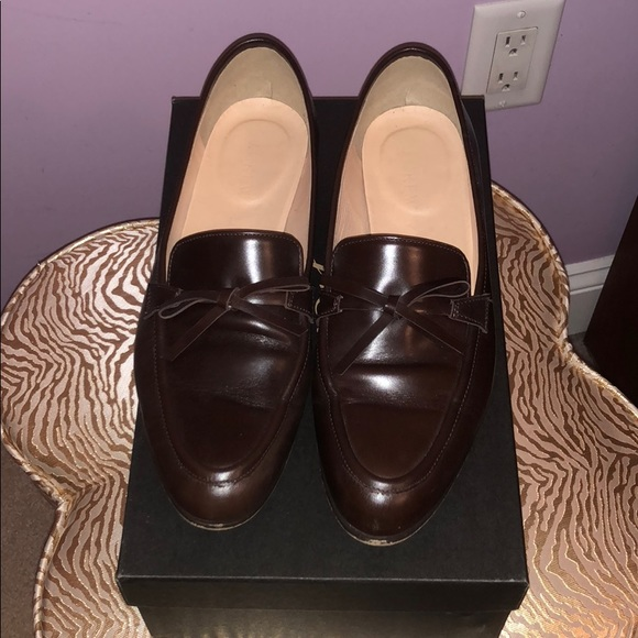 caf30f8c185 J. Crew Shoes - J.Crew Academy Loafers in Leather Size 7.5